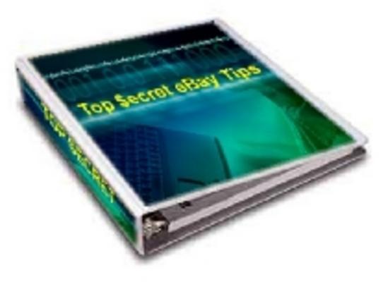 Product picture Top Secret eBay Tips PLR