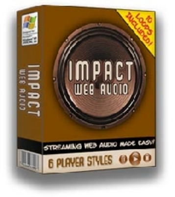 Product picture Impact Audio - Add Audio To Your Site - Software